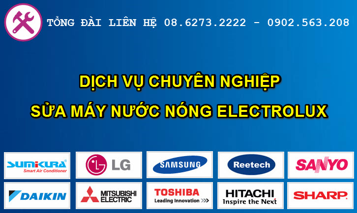 sua may nuoc nong electrolux