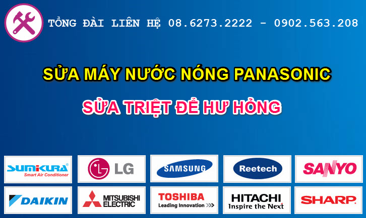sua may nuoc nong panasonic